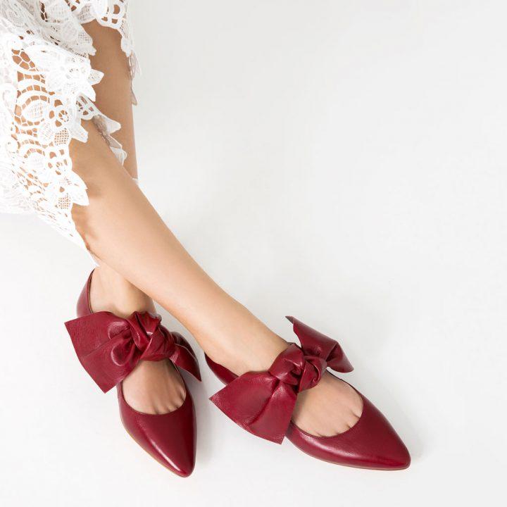 zara scarpa fiocco